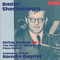 Shostakovich: String Quartet No.3, Two Pieces for String Octet, Piano Quintet