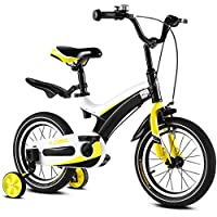 DGF 子供の自転車2-12歳の赤ん坊の子供のペダル自転車の少年の少女の赤ちゃんの運送 (色 : イエロー いえろ゜, サイズ さいず : 16 inches)