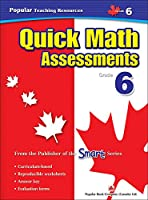Quick Math Assessment: Grade 6 (Popular Teaching Resources)