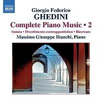 Complete Piano Music 2 by GIORGIO FEDERICO GHEDINI (2011-01-25)