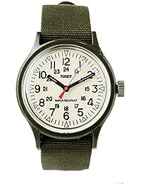[タイメックス] TIMEX 腕時計 キャンパー camper 12月販売 日本限定企画 オリジナルキャンパー アイボリー ダイアル 36mm ナイロンストラップ 【正規輸入品】 (オリーブ)