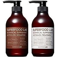 SUPERFOOD LAB BIOTIN + OIL SHAMPOO & TREATMENT