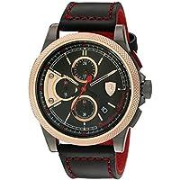 ブラック メンス アナログ カジュアル クォーツ Ferrari 時計 FORMULA ITALIA ???? 0830313