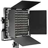 Neewer 調光可能な二色660 LEDビデオライト 耐久性のあるメタルフレーム、 Uブラケットとバンドア付き 3200-5600K、CRI96+ スタジオ撮影、YouTube、商品撮影、ビデオ撮影に適用