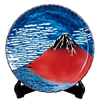 九谷焼 10号 飾皿 凱風快晴 |陶器 飾り皿 絵皿 大皿 贈答品 新築祝い 開店祝い 叙勲祝いギフト 記念品