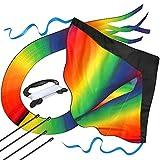 子供のための巨大な虹カイト