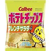 カルビー ポテトチップスフレンチサラダ味 60g×12個