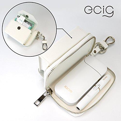 [해외] [ECIG] IQOS 케이스 파우치 커버 PU 레져 heat 스틱 토바코 연초 전자 토바코 아이코스 ICOS