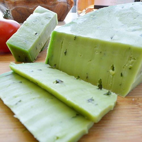 バジロン ヴェルデカット 約360g前後 オランダ産ゴーダチーズ ナチュラルチーズ クール便発送 パスタ料理 ピザ料理 Basiron Verde Gouda Cheese