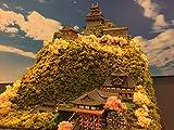 日本100名城 戦国の城 織田信長 岐阜城(信長の館期) お城 模型 ジオラマ完成品 450サイズ