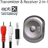 Avantree Low Latency Bluetooth Transmitter & Receiver 2-in-1