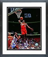 "Dominique Wilkins Atlanta Hawks NBAアクション写真(サイズ: 18"" x 22"" )フレーム入り"