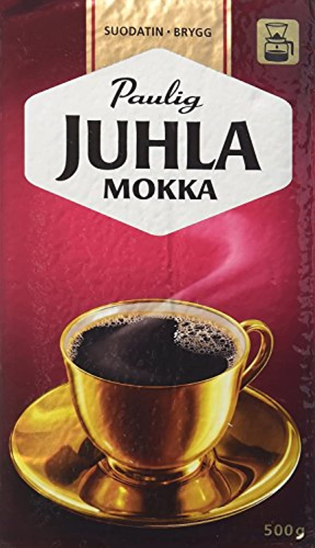 ロバーツコーヒー(ROBERT'S COFFEE) ユフラ モッカ コーヒー 500g 4袋 ( 2kg )Juhla Mokka フィンランドのコーヒーです [並行輸入品]