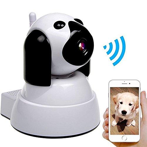 ネットワークカメラ ベビーモニター 監視 ペット 見守り 留守番 200万画素 720P高画質 iP Camera 暗視撮影 マイク内蔵通信可能 動体検知 iOS / Android / Windows 日本語説明書付き