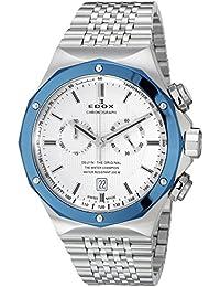 エドックス EDOX 腕時計 10108 3BU AIN デルフィン クォーツクロノグラフ [並行輸入品]