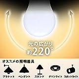 アイリスオーヤマ LED電球 口金直径26mm 60W形相当 電球色 広配光タイプ 2個セット 密閉器具対応 LDA8L-G-6T42P画像1