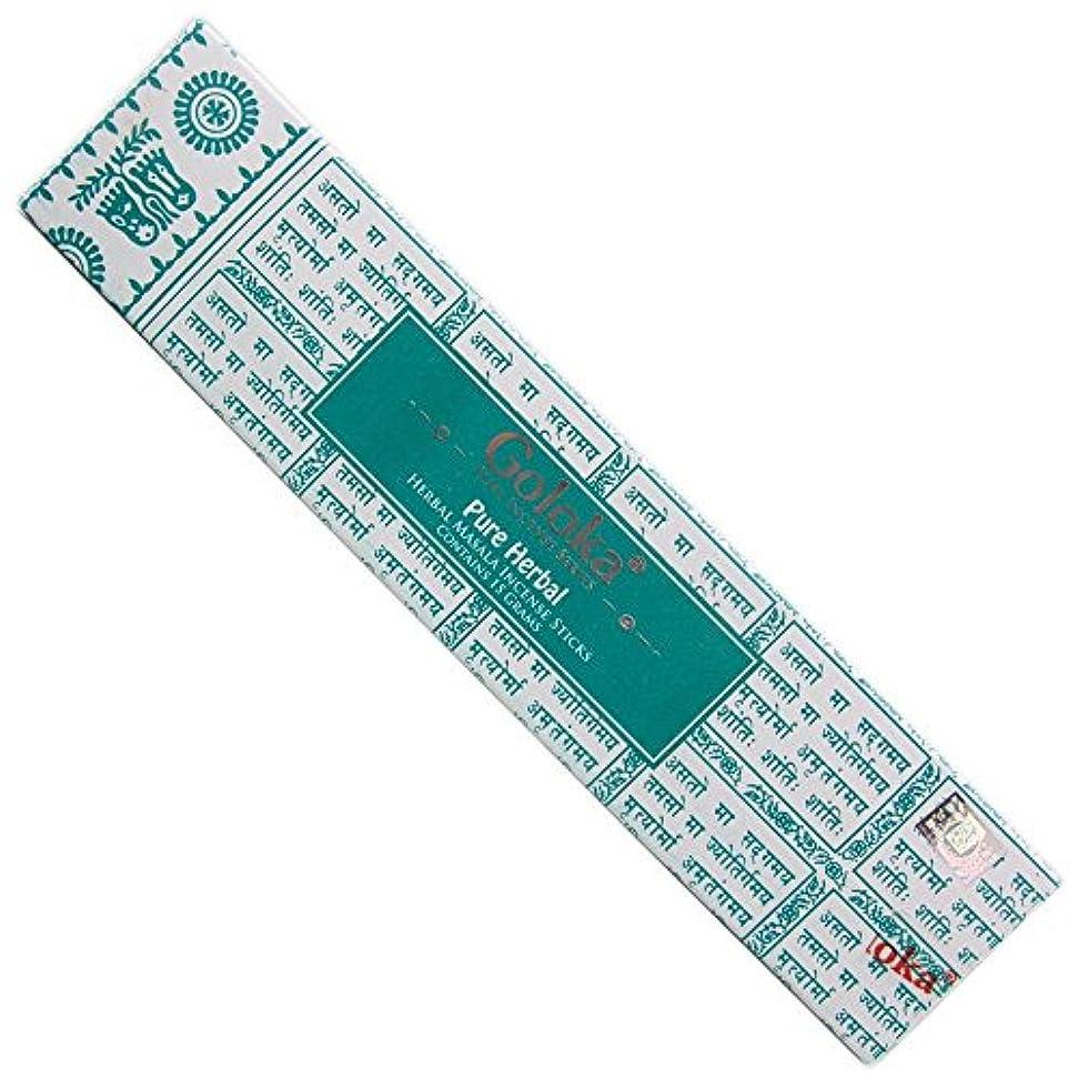 方向緊張するベッツィトロットウッドGoloka – Pureハーブ – Herbal Incense Sticks – 12ボックスの15グラム合計180グラム