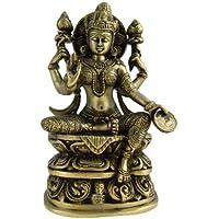 ラクシュミー女神の像ヒンズー教Figurine Indianギフト8インチ