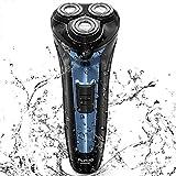 FLYCO 电気シェーバー 髭剃り メンズシェーバー 电気カミソリ 回転式 3枚刃 IPX7防水 お风吕剃り 水洗い可能