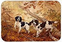 """Caroline 's Treasures heh0139cmt"""" Springer Spaniels byエリザベスHalstead""""キッチンやバスマット、20"""" H x 30"""" W,マルチカラー"""