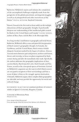 『Demonic Grounds: Black Women And the Cartographies of Struggle』の1枚目の画像