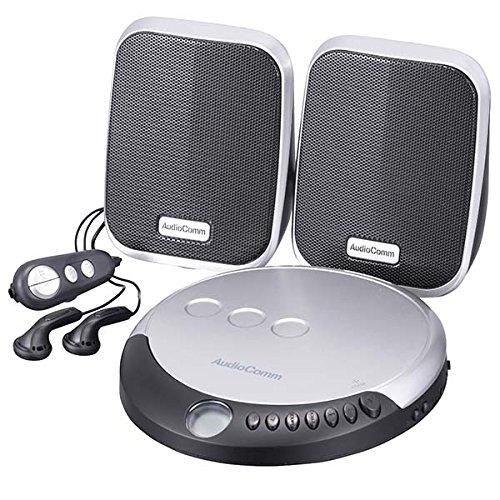 オーム (OHM) AudioComm ポータブルCDプレーヤー スピーカー付き_CDP-798N 07-8798