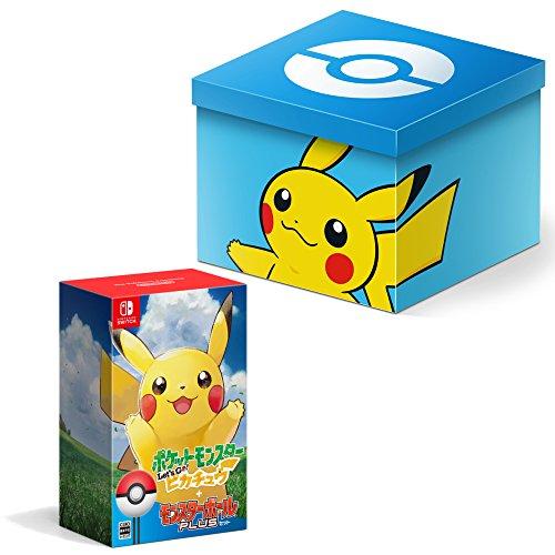 ポケットモンスター Let's Go! ピカチュウ モンスターボール Plusセット【Amazon.co.jp限定】オリジナルピカチュウカスタマイズボックス 付