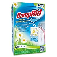 Damp Ridテつョ Hanging Moisture Absorber in Fresh Scent (Set of 3) by DampRid