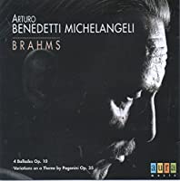 Brahms: 4 Ballades Op.10 Variation on a Theme by Paganini Op.35