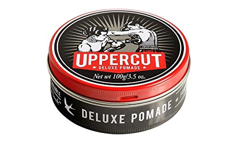 熱狂的なつかいます苦しみUPPERCUT DELUXE(アッパーカットデラックス) DELUXE POMADE 水性ポマード グリース 男性用 ツヤあり 香りココナッツ 100g