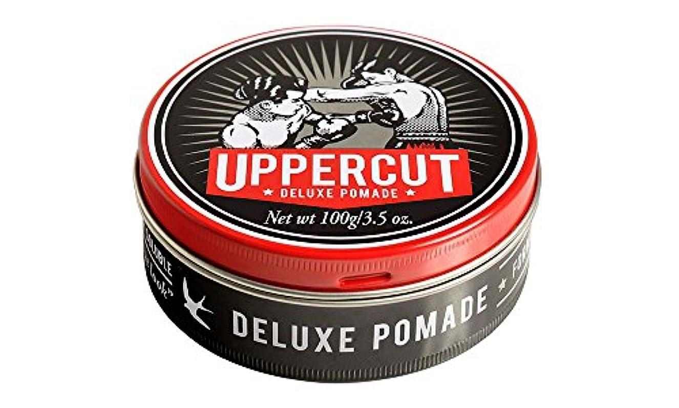 短くするめんどり重要UPPERCUT DELUXE(アッパーカットデラックス) DELUXE POMADE 水性ポマード グリース 男性用 ツヤあり 香りココナッツ 100g