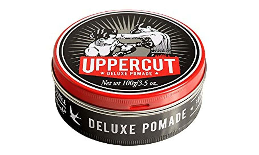 ダーリン連結する堤防UPPERCUT DELUXE(アッパーカットデラックス) DELUXE POMADE 水性ポマード グリース 男性用 ツヤあり 香りココナッツ 100g