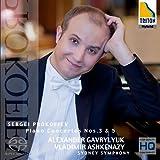 プロコフィエフ:ピアノ協奏曲第3番&第5番