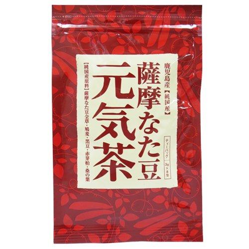 ヨシトメ産業 薩摩なた豆元気茶 8包入