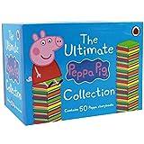 「ペッパピッグ(Peppa pig)」50冊 ミニ絵本コンプリートセット the ultimate peppa pig collection 50 books set
