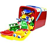 Viking Toys - Chubbies Toy Bucket - 15pcs Baby and Toddler Toys