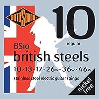 ROTOSOUND ROT-BS10 Regular エレキギター弦×6セット