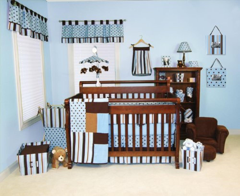 Max 4-Piece Baby Crib Bedding Set by Trend Lab