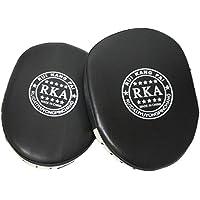 (ハスル) Hasle パンチング ミット ボクシング 格闘技 空手 トレーニング エクササイズ メンズ レディース ユニセックス 男女兼用 黒 ストレス 解消 2個セット