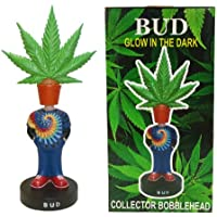 Stoner Bud Pot Head Marijuana Leaf Collector Bobblehead