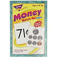 [トレンドエンタープライズ]Trend Enterprises Inc Trend Enterprises T58003 Money Match Me Cards Set, 3 x 37/8 Size, [並行輸入品]