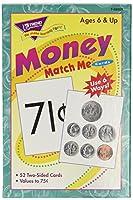 [トレンドエンタープライズ]Trend Enterprises Inc Trend Enterprises T58003 Money Match Me Cards Set, 3 x 37/8 Size, [並行輸入品]