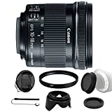 Canon EF - S 10–18mm F / 4.5–5.6is STMレンズfor Canon EOS 550d 500d and Accessoryバンドル