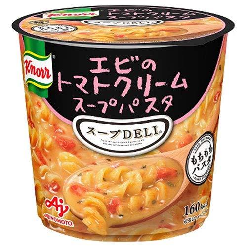 味の素 クノール スープDELI エビのトマトクリームスープパスタ(容器入り) 41.2g×12(6×2)個入