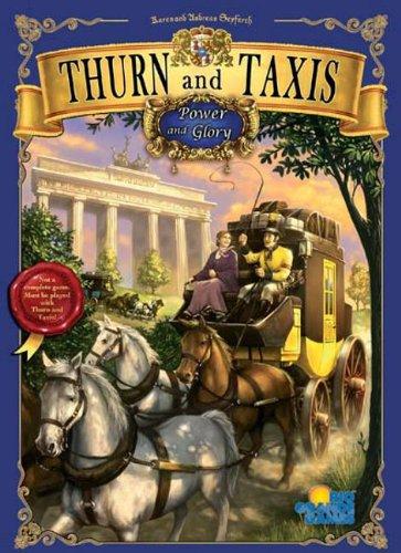 郵便馬車拡張セットI 北部マップ (Thurn und Taxis: Glanz und Gloria) (英語版) ボードゲーム