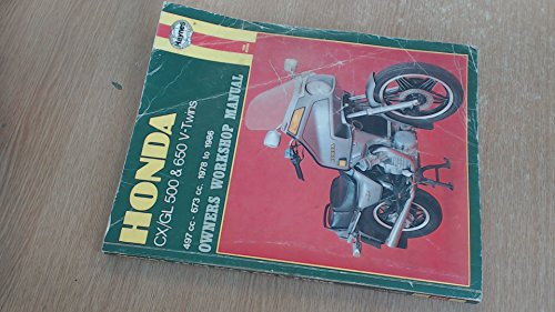 Honda Cbx550 Owners Workshop Manual, 1982-1984 (Motorcycle Manuals)