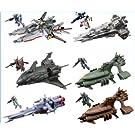 機動戦士ガンダムACT7 コスモ フリート コレクション メガハウス(シークレット付き全6種フルコンプセット)