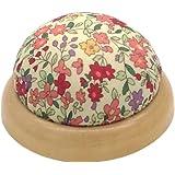 gazechimp ピンクッション 針山 ミシン用 針 収納 半円形 花柄 おしゃれ 便利 愛好家 プレゼント 全4選択…