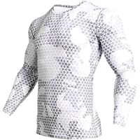 Compression Shirt Men Camouflage Long Sleeve Tight Tee Shirt Men Fitness 3D Quick Dry Clothes MMA Rashguard Gyms Camo T-Shirt