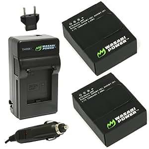 GOPRO HERO3用 バッテリー2ケ + 充電キット 並行輸入品